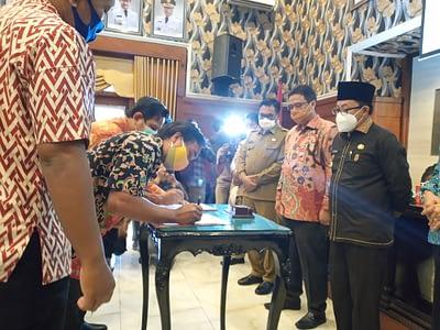 Walikota Sutiaji Kenalkan Market Place Lokal Malang ke Wantannas