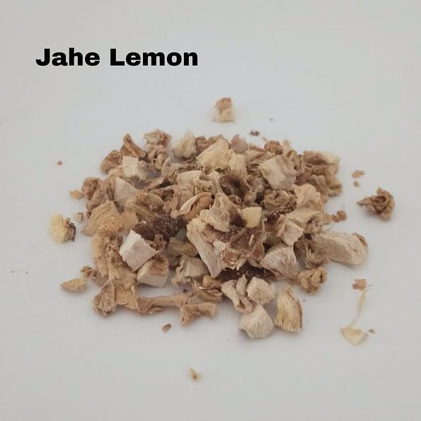 tekstur jahe lemon