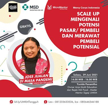 Webinar Series Kolaborasi Malanggleerrr Dan Micromentor Indonesia