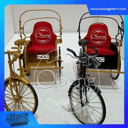becak roda 3 mini